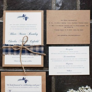 Blair + Charles Wedding Invitations