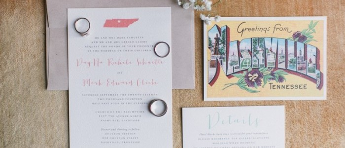 Howl Creative Co, Evansville, IN wedding invitations