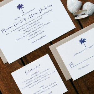 Mandi + Adam Wedding Invitation