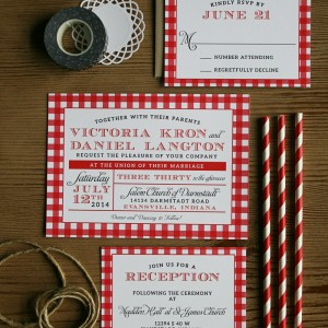 Tori + Dan Wedding Invitations