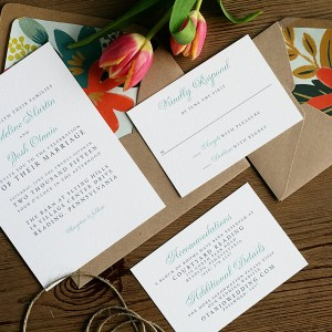 Madeline + Josh Wedding Invitations