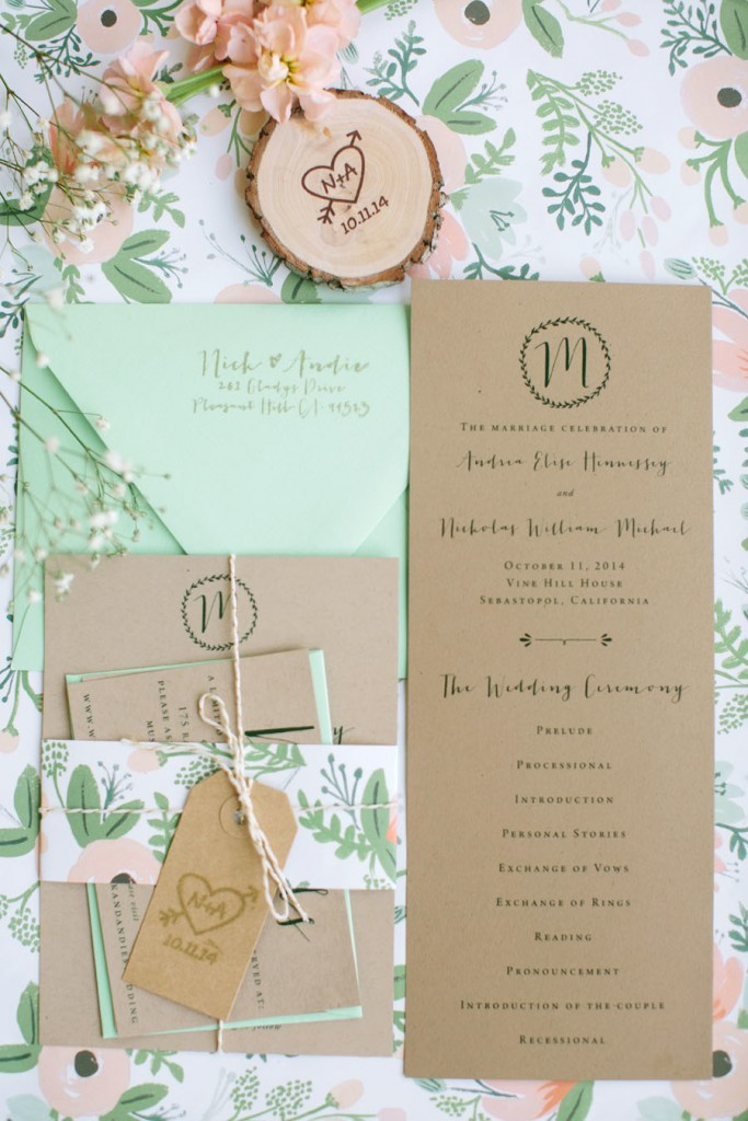 Howl Creative Co, Wedding Invitations, Evansville, IN