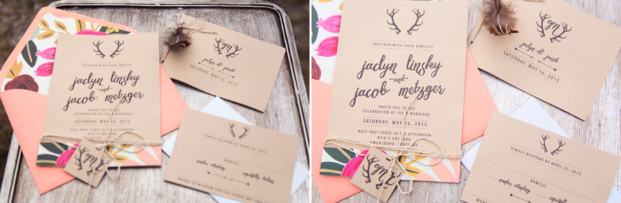wedding invitations boho inspired
