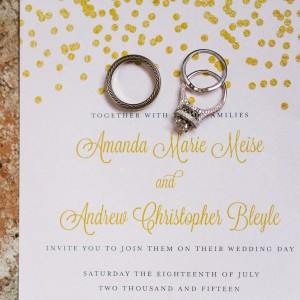 Andie + Drew Wedding Invitations