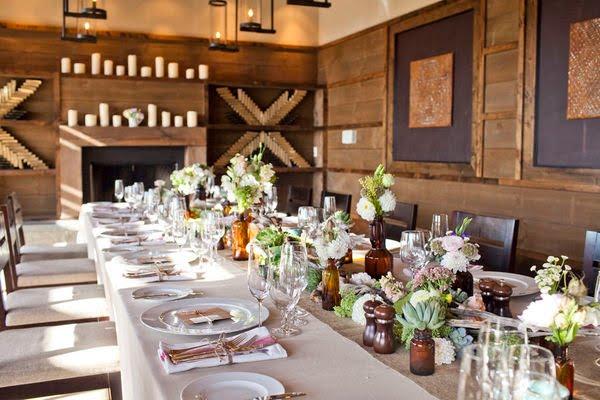 11 succulent wedding centerpieces barnwoodandbirch.blogspot.com  - best barn weddings